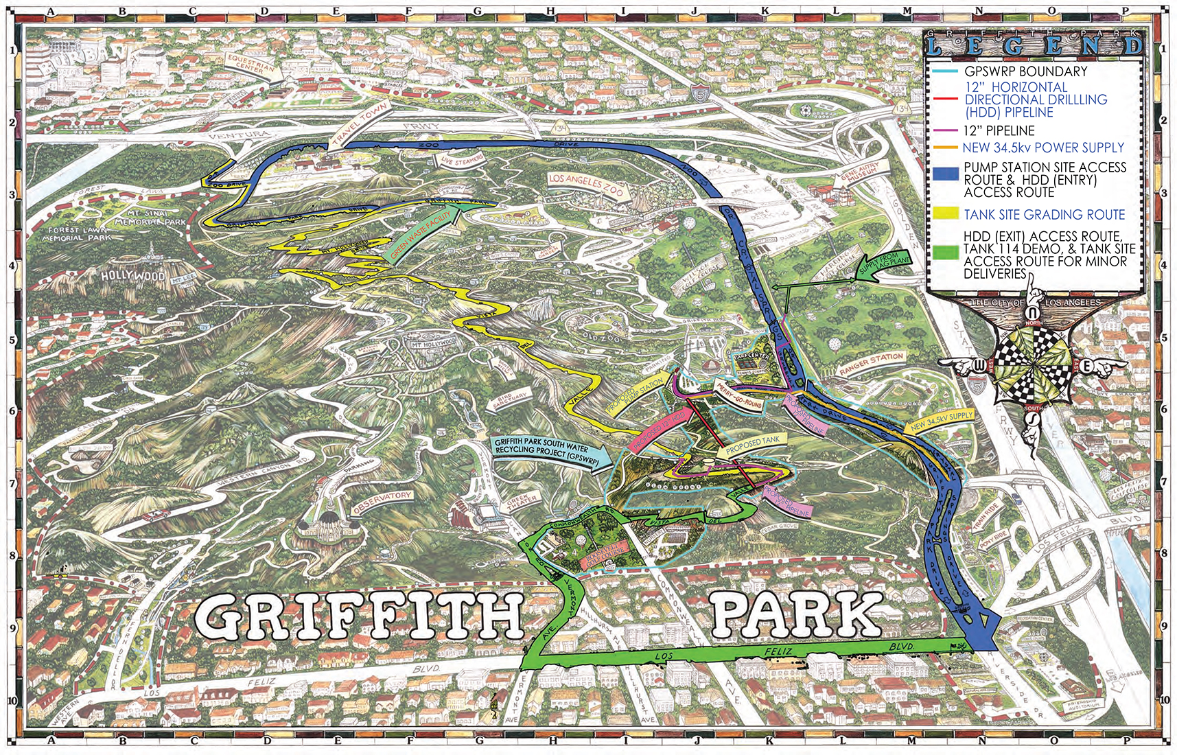 dwp s griffith park water recycling project