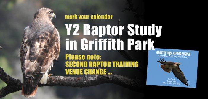 2018 Raptor Study Call for Volunteers